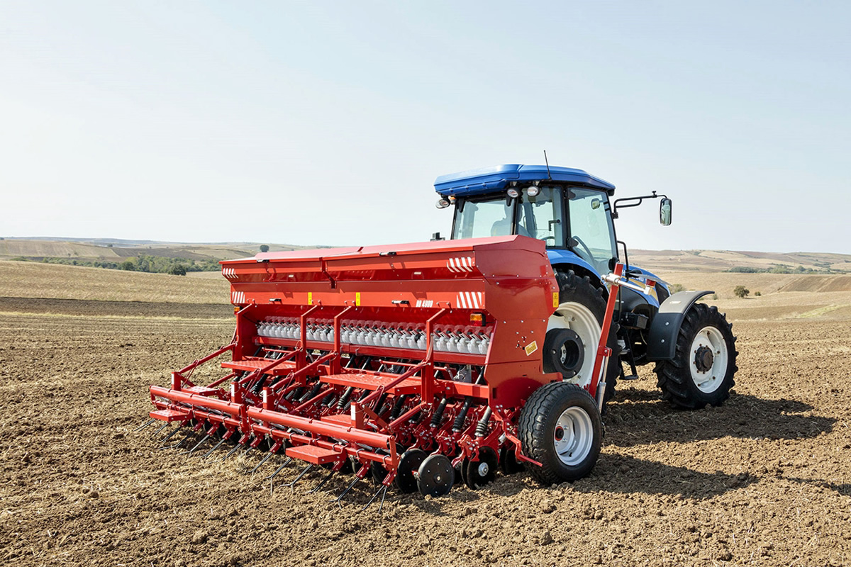 Seed Drill Double Disc